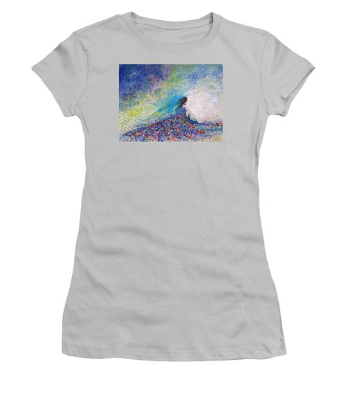 Being A Woman - #5 In A Daydream Women's T-Shirt (Junior Cut) by Kume Bryant