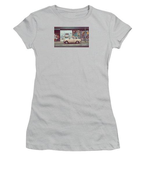 Berlin East Side Gallery Women's T-Shirt (Junior Cut) by JR Photography