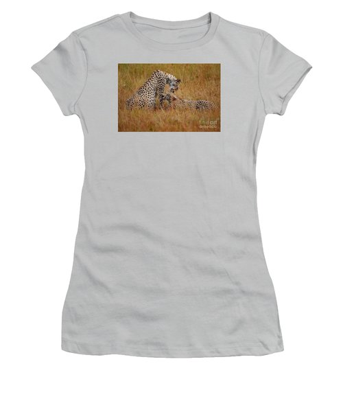 Best Of Friends Women's T-Shirt (Junior Cut) by Nichola Denny