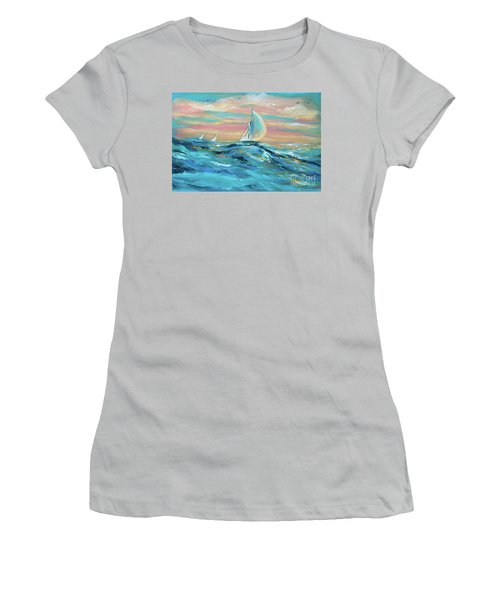 Big Swell Women's T-Shirt (Athletic Fit)