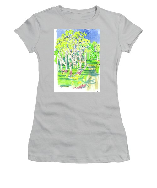 Birch Women's T-Shirt (Athletic Fit)