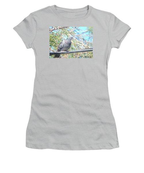 Bird Watchman Women's T-Shirt (Athletic Fit)