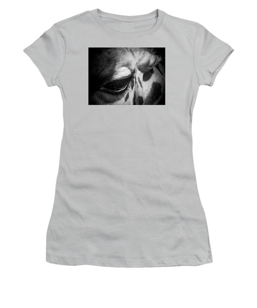 Blink Of An Eye Women's T-Shirt (Athletic Fit)