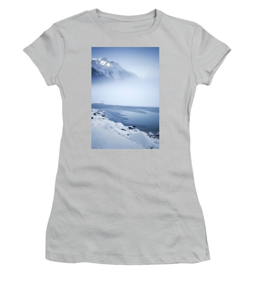 Blue Mountain Fog Women's T-Shirt (Athletic Fit)