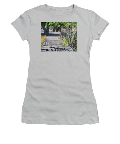 Boardwalk 2 Women's T-Shirt (Junior Cut) by Ansel Price