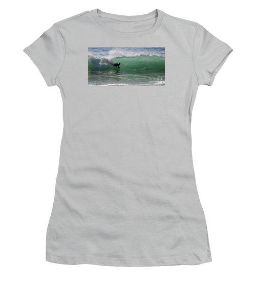 Body Surfer Women's T-Shirt (Athletic Fit)