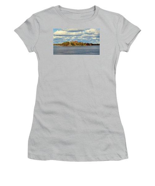 Boldt Castle Women's T-Shirt (Athletic Fit)