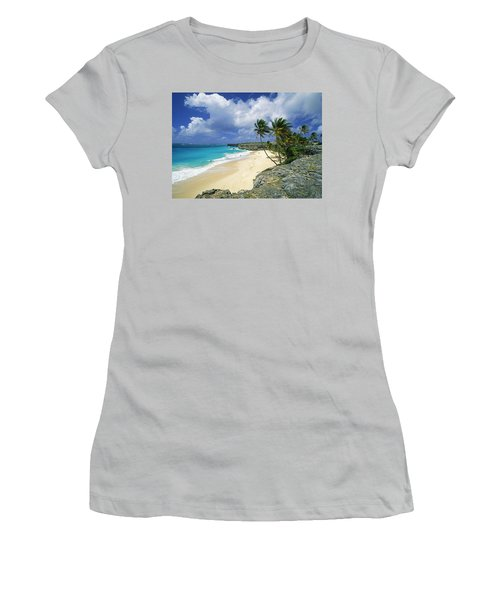 Bottom Bay, Barbados Women's T-Shirt (Athletic Fit)