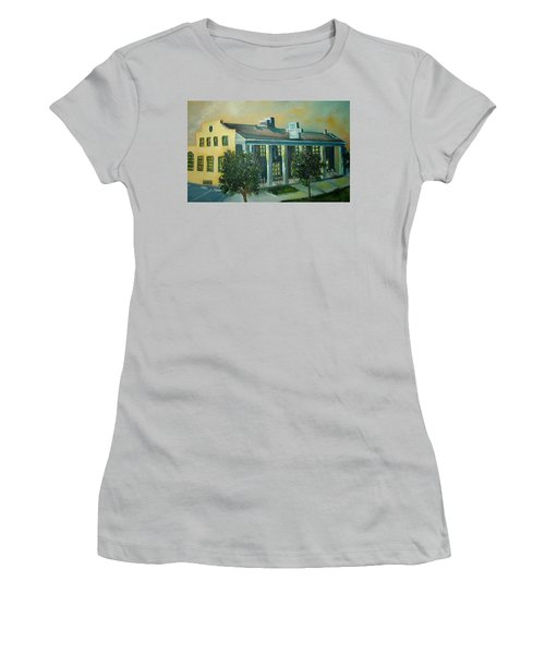 Boulder Dam Hotel, Boulder City, Nevada Women's T-Shirt (Athletic Fit)