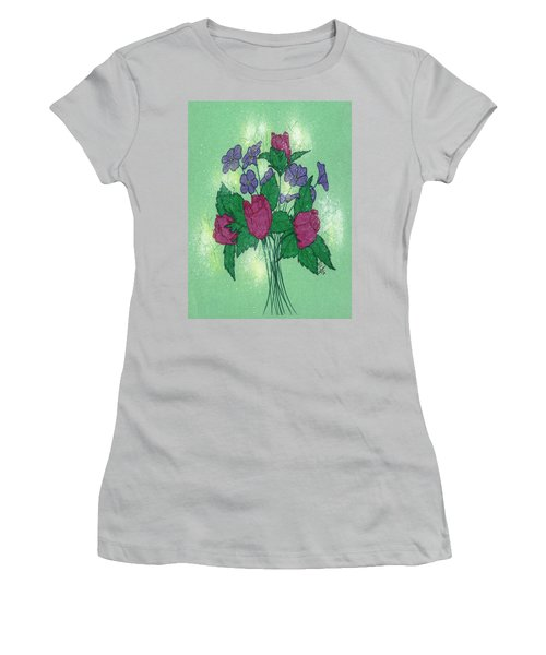 Bouquet Women's T-Shirt (Athletic Fit)