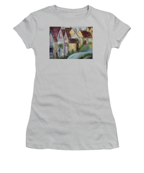 Bourton On The Water Women's T-Shirt (Junior Cut) by Roxy Rich