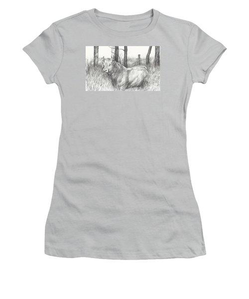 Breaker Study Women's T-Shirt (Athletic Fit)