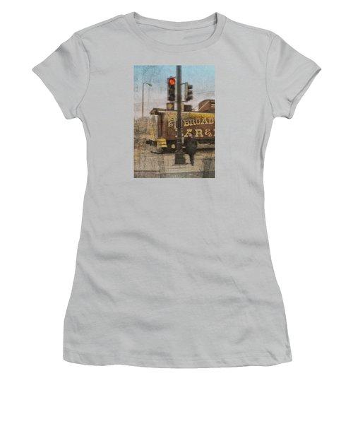 Broadway Bar Women's T-Shirt (Athletic Fit)