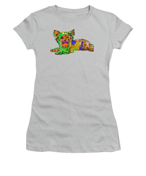 Buddy. Pet Series Women's T-Shirt (Athletic Fit)