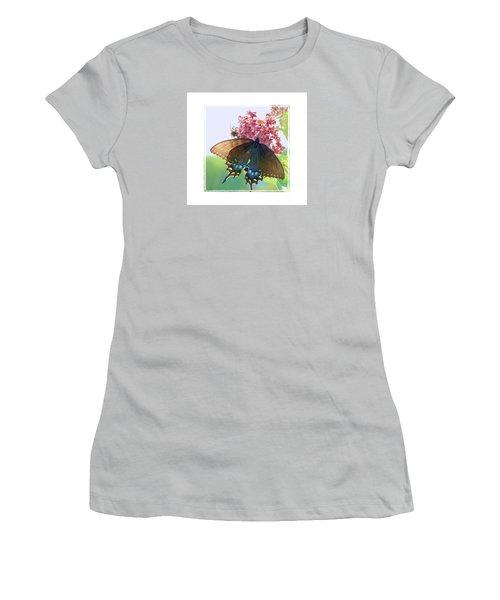 Butterfly Summer 3 Women's T-Shirt (Junior Cut) by Shirley Moravec