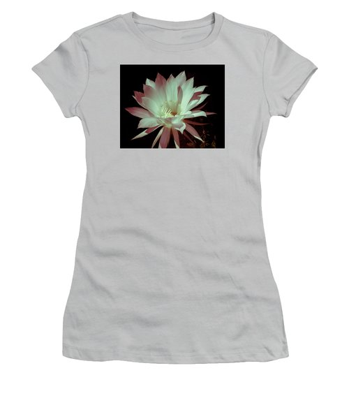 Cactus Flower Women's T-Shirt (Junior Cut)