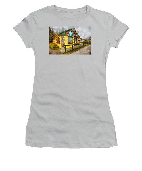 Cafe Cups Women's T-Shirt (Athletic Fit)