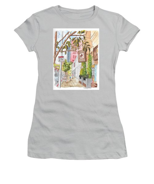 Cafee Primo In Sunset Plaza, West Hollywood, California Women's T-Shirt (Junior Cut) by Carlos G Groppa