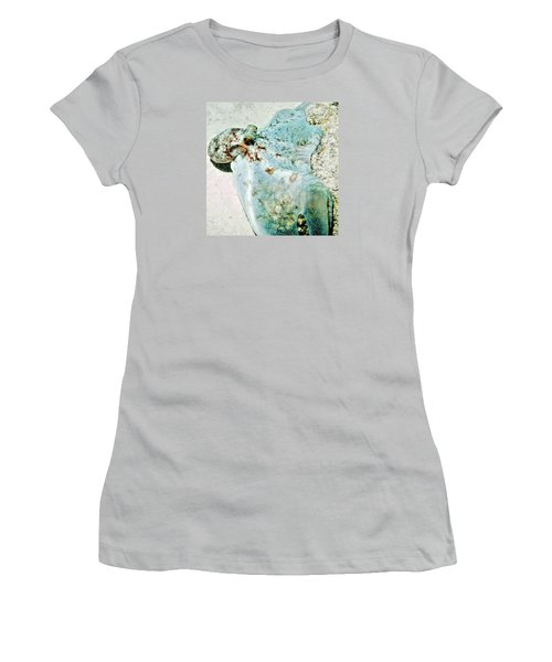 Women's T-Shirt (Junior Cut) featuring the photograph Caribbean Reef Octopus - Eyes Of The Deep by Amy McDaniel