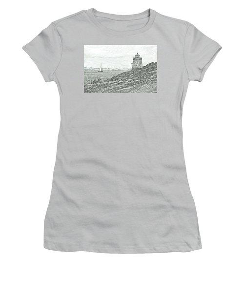 Castle Hill Lighthouse Women's T-Shirt (Athletic Fit)