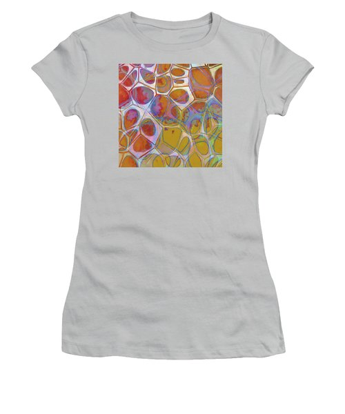 Cell Abstract 14 Women's T-Shirt (Athletic Fit)