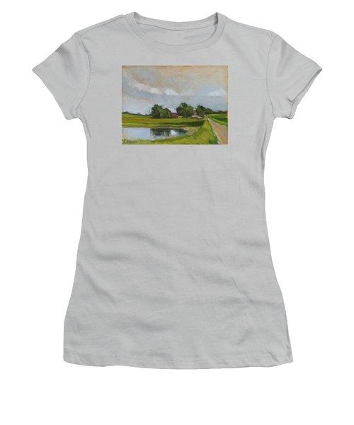 Century Farm Women's T-Shirt (Athletic Fit)