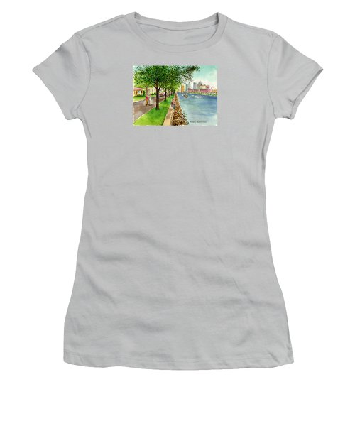 Channel Drive Tampa Florida Women's T-Shirt (Athletic Fit)
