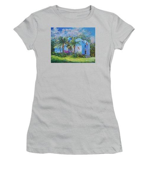 Chapel Of St. Panteleimon Women's T-Shirt (Junior Cut) by AnnaJo Vahle