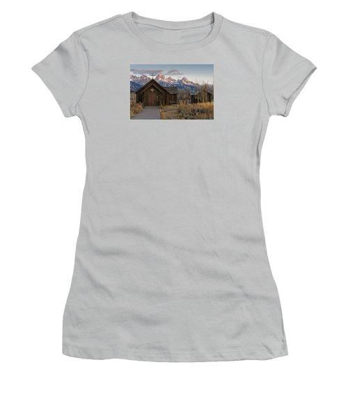 Chapel Of The Transfiguration - II Women's T-Shirt (Athletic Fit)