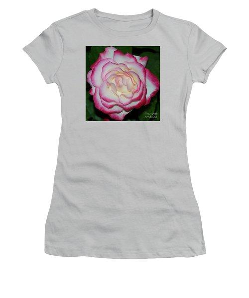 Cherry Parfait Rose 1 Women's T-Shirt (Athletic Fit)