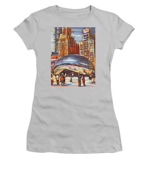 Chicago Millennium 2 Women's T-Shirt (Athletic Fit)