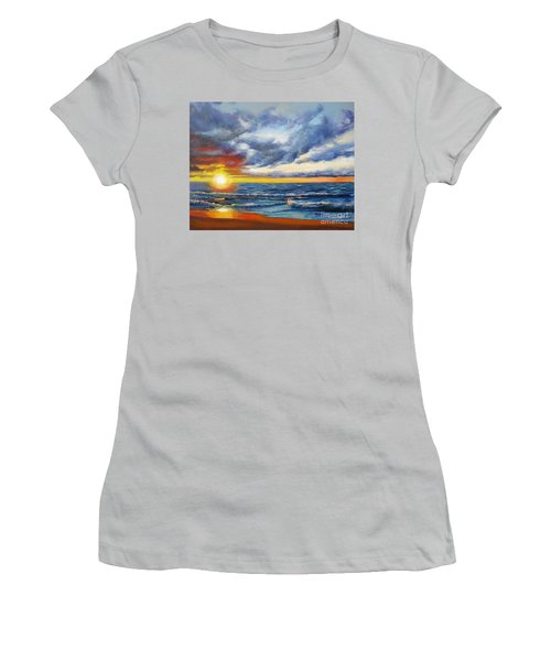 Christmas Cove Women's T-Shirt (Athletic Fit)