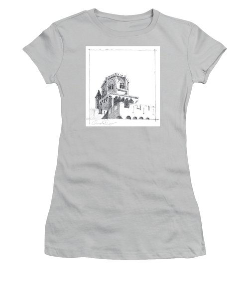 Church At Chamalieres Women's T-Shirt (Athletic Fit)