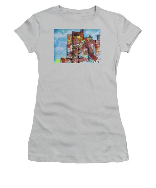 Cityscape 230 Women's T-Shirt (Junior Cut) by Karin Husty