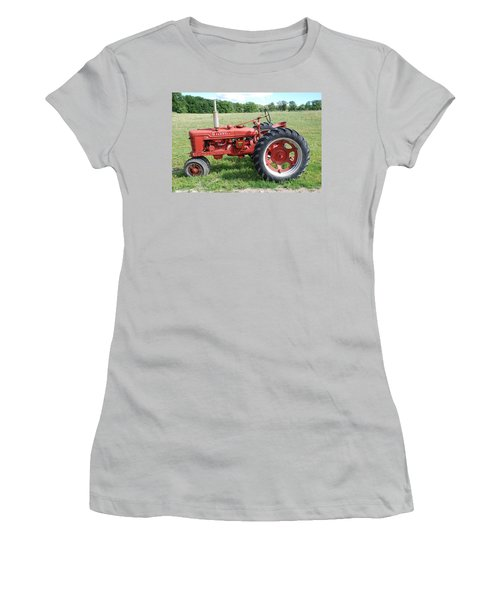 Classic Tractor Women's T-Shirt (Junior Cut) by Richard Bryce and Family