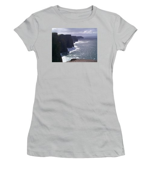 Cliffs Of Moher Women's T-Shirt (Athletic Fit)