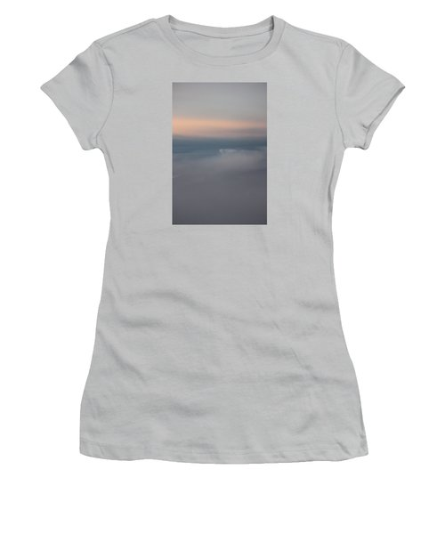 Cloud Abstract II Women's T-Shirt (Junior Cut) by Suzanne Gaff