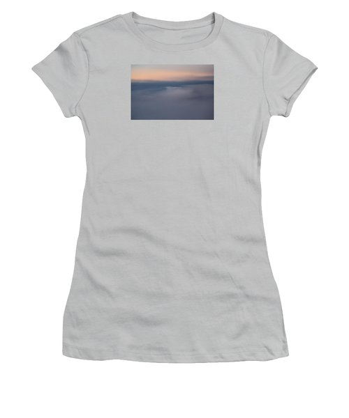 Cloud Abstract  Women's T-Shirt (Junior Cut) by Suzanne Gaff