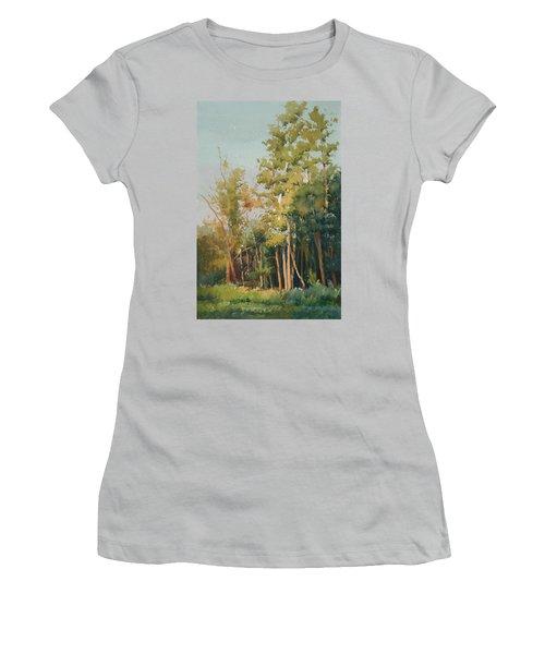 Color Of Light Women's T-Shirt (Junior Cut) by Helal Uddin