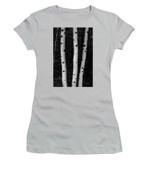 Women's T-Shirt (Athletic Fit) featuring the photograph Coming Out Of Darkness by James BO Insogna