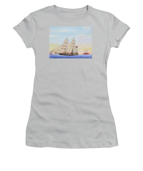 Coming To America - 1872 Women's T-Shirt (Athletic Fit)