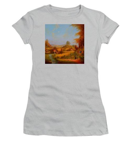 Concerning Hobbits Women's T-Shirt (Junior Cut) by Joe Gilronan