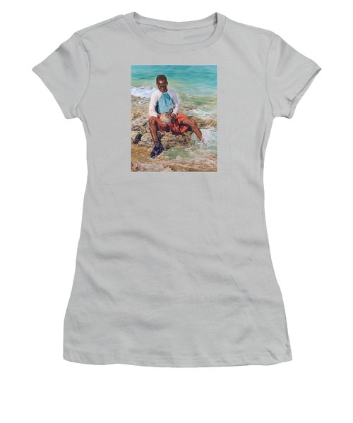 Conch Boy II Women's T-Shirt (Athletic Fit)