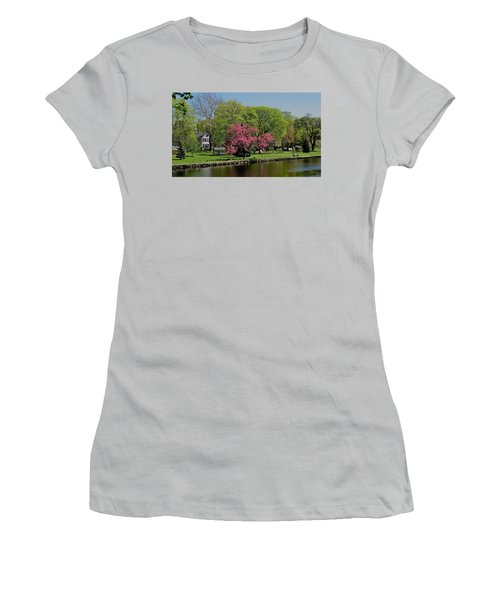 Women's T-Shirt (Junior Cut) featuring the photograph Connecticut by John Scates