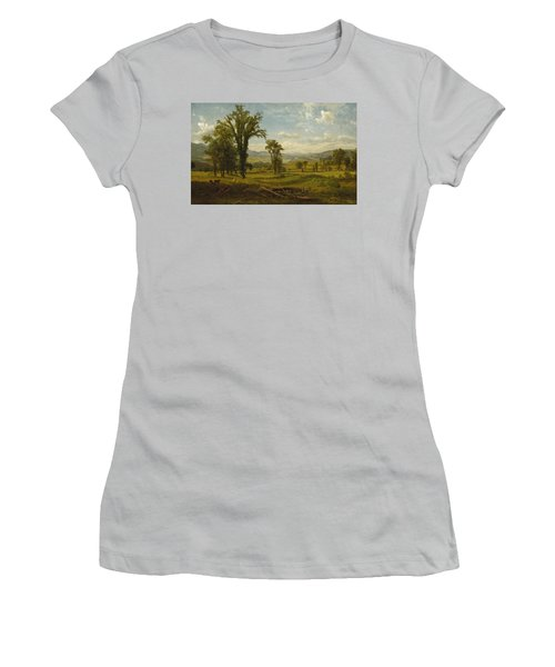 Connecticut River Valley, Claremont, New Hampshire Women's T-Shirt (Athletic Fit)