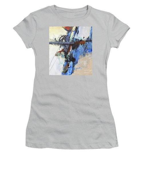 Coolly Collected Women's T-Shirt (Junior Cut) by Ron Stephens