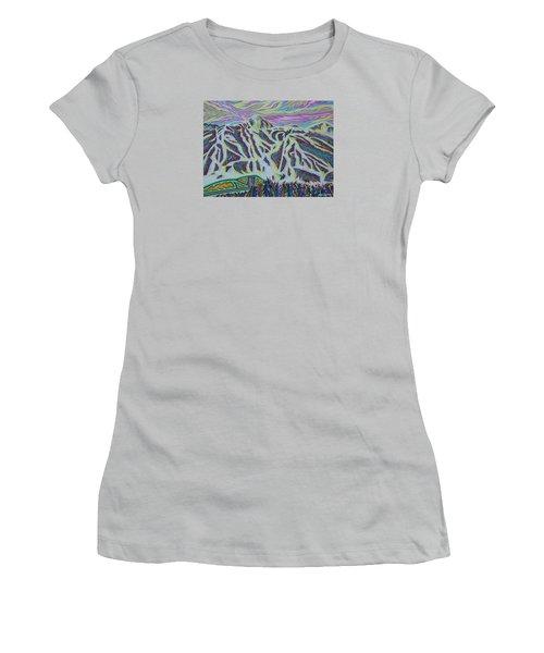 Copper Mountain Women's T-Shirt (Junior Cut) by Robert SORENSEN