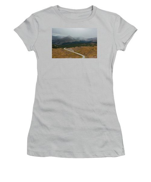 Cottonwood Pass #1 Women's T-Shirt (Athletic Fit)