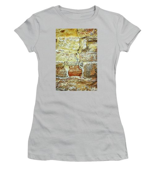 Cracked Women's T-Shirt (Athletic Fit)