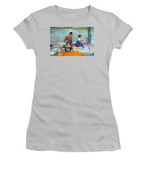 Crepe Makers Women's T-Shirt (Junior Cut) by Gerhardt Isringhaus